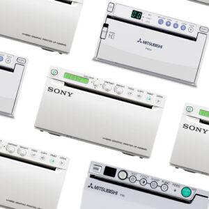 Ремонт медицинских термопринтеров Sony, Mitsubishi для УЗИ аппарата (УЗИ не печатает, мнет, рвет бумагу)
